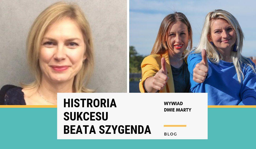 Historia sukcesu: Beata Szygenda