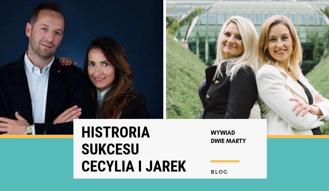 Historia sukcesu: Cecylia i Jarek